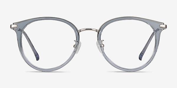 Hollie Blue Plastic-metal Eyeglass Frames