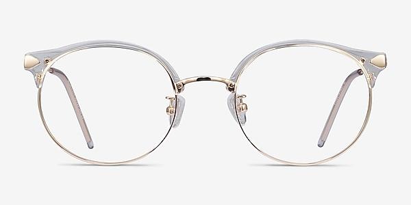 Moon River Transparence Plastic-metal Montures de lunettes de vue
