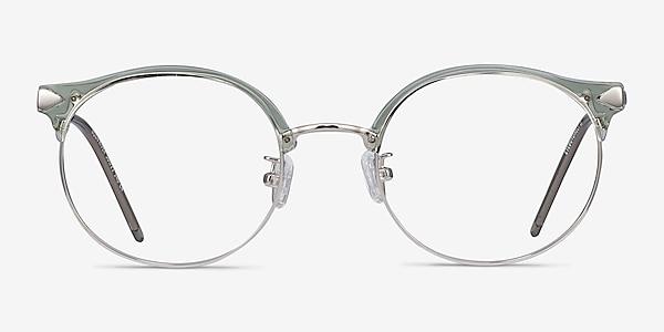 Moon River Clear Green Plastic-metal Montures de lunettes de vue