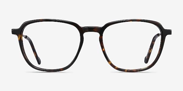 The Fan Tortoise Acetate-metal Eyeglass Frames