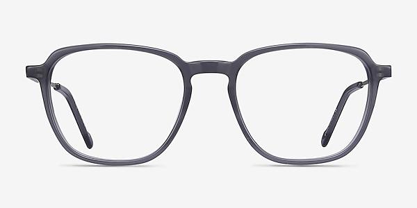 The Fan Gray Acetate-metal Eyeglass Frames