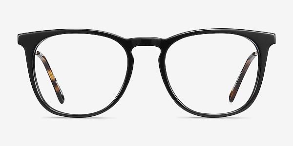 Vinyl Black Acetate-metal Eyeglass Frames