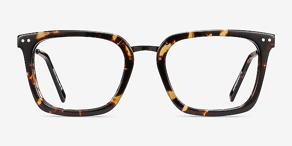 Poise Tortoise Acetate-metal Eyeglass Frames