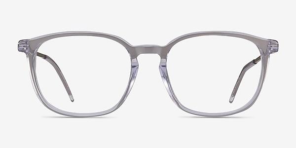 Esquire Clear Acetate-metal Eyeglass Frames