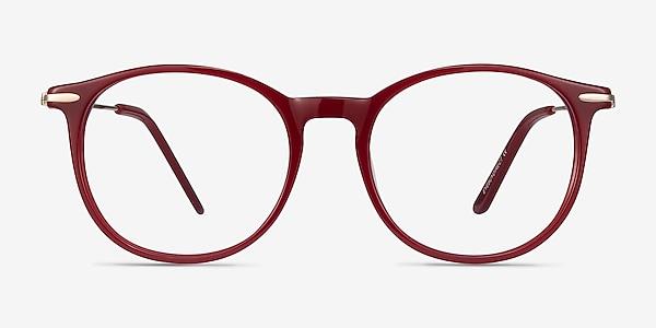 Quill Rouge Acetate-metal Montures de lunettes de vue