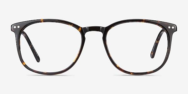 Savvy Tortoise Acetate-metal Eyeglass Frames