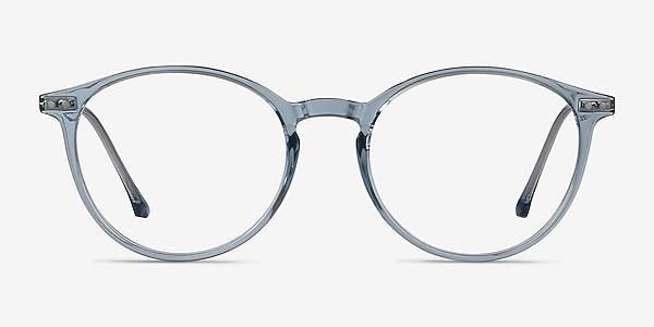 Amity Blue Plastic-metal Eyeglass Frames