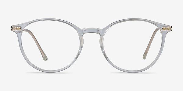 Amity Clear Plastic-metal Eyeglass Frames