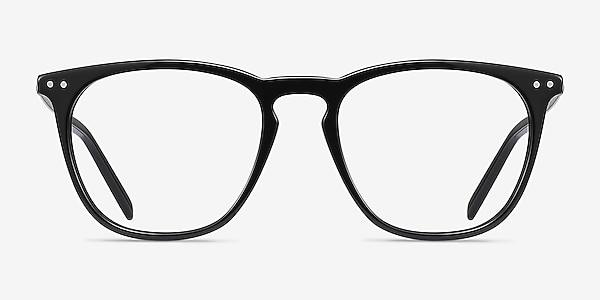 Distance Black Acetate-metal Eyeglass Frames