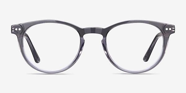 Traveller Gris Acetate-metal Montures de lunettes de vue
