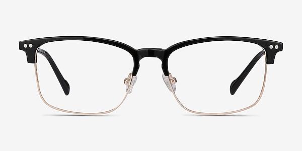Explorer Black Acetate-metal Eyeglass Frames