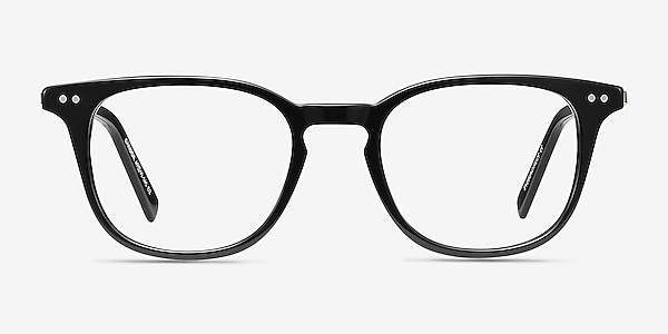 Candor Black Acetate-metal Eyeglass Frames