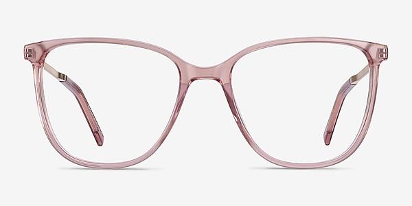 Aroma Pink Acetate-metal Eyeglass Frames