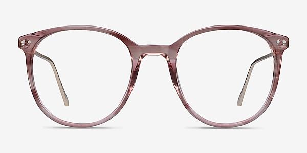 Oriana Pink Acetate-metal Eyeglass Frames