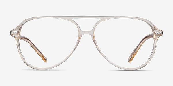 Viento Clear Yellow Acetate Eyeglass Frames