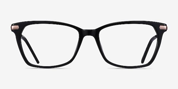 Forward Black Acetate-metal Eyeglass Frames