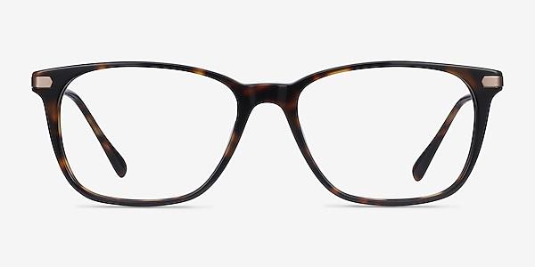 Plaza Écailles Acetate-metal Montures de lunettes de vue