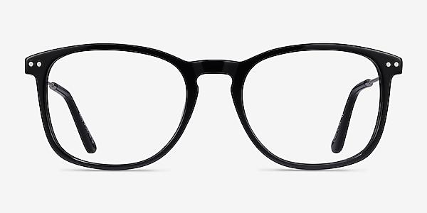 Ratio Noir Acetate-metal Montures de lunettes de vue