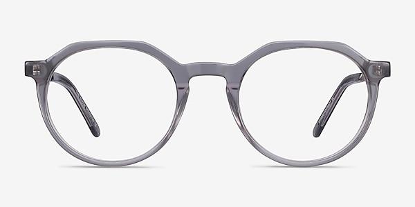 The Cycle Gray Acetate-metal Eyeglass Frames