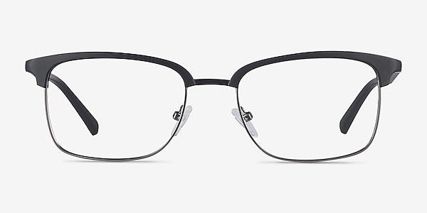 Osten Black Plastic-metal Eyeglass Frames