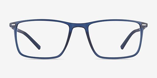 Simon Blue Plastic-metal Eyeglass Frames