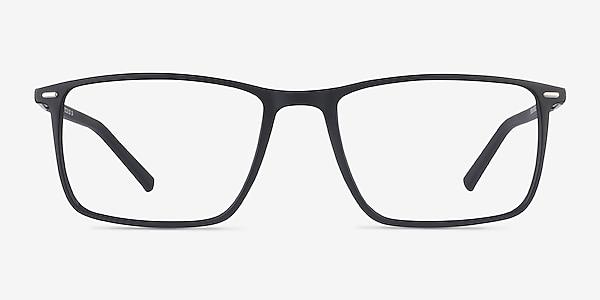 Simon Black Plastic-metal Eyeglass Frames