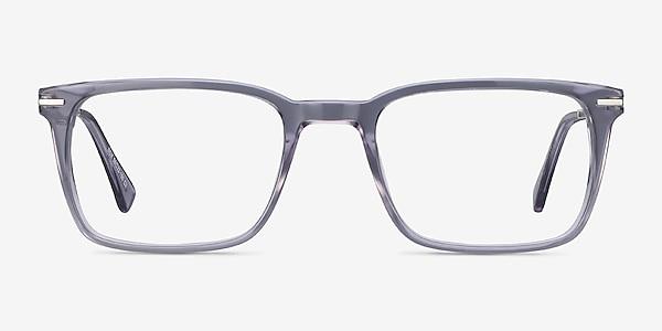 Nox Gray Acetate-metal Eyeglass Frames