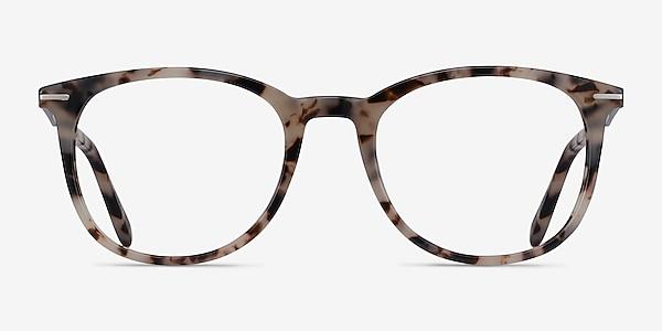Ninah Ivory Tortoise Acetate-metal Eyeglass Frames