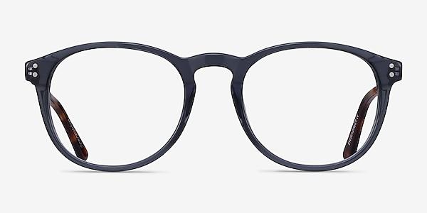 Akio Gray Acetate-metal Eyeglass Frames