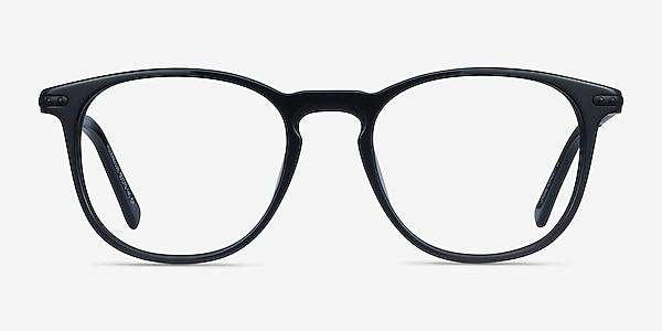 Villeneuve Black Acetate-metal Eyeglass Frames