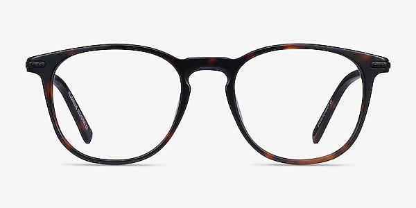 Villeneuve Écaille Noire Acetate-metal Montures de lunettes de vue
