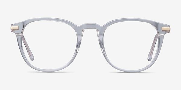 Giverny Transparence Acetate-metal Montures de lunettes de vue
