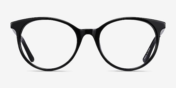 Solver Black Acetate-metal Eyeglass Frames