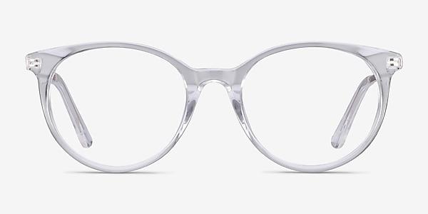 Solver Transparence Acetate-metal Montures de lunettes de vue