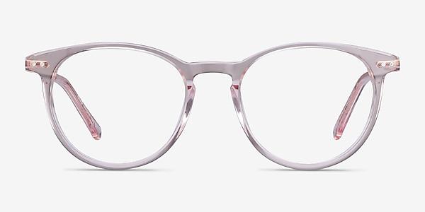 Snap Pink Acetate-metal Eyeglass Frames
