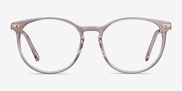 Clever Rose Acetate-metal Montures de lunettes de vue