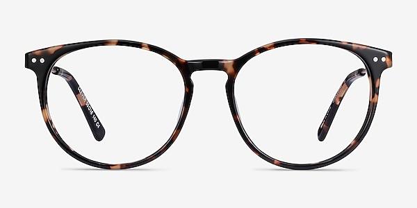Clever Tortoise Acetate-metal Eyeglass Frames