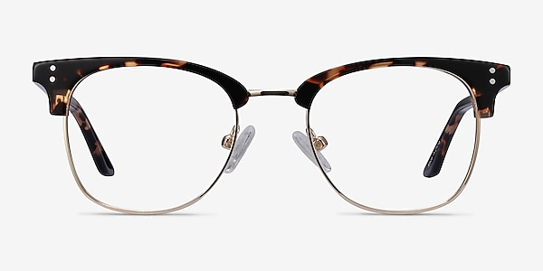 Freestyle Tortoise Acetate-metal Eyeglass Frames