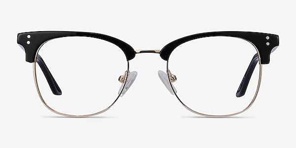 Freestyle Black Acetate-metal Eyeglass Frames