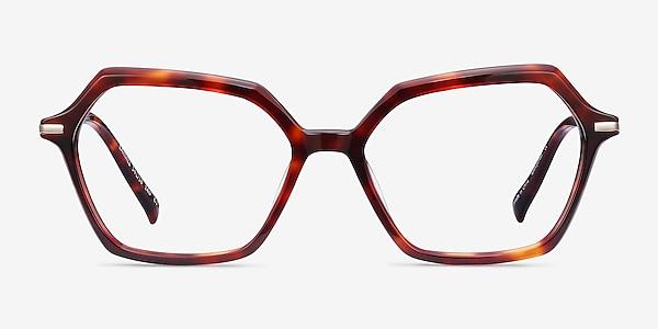 Carmel Tortoise Acetate-metal Eyeglass Frames