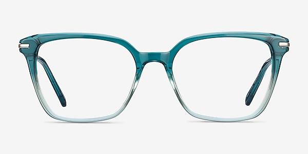Dearly Green Acetate-metal Eyeglass Frames
