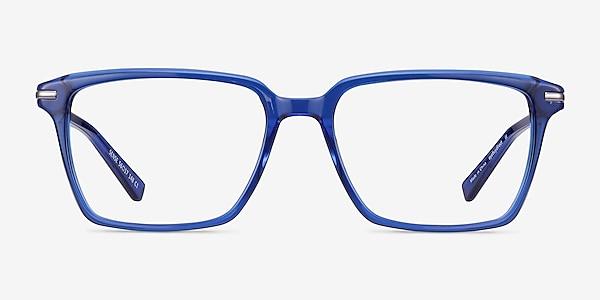 Sense Blue Acetate-metal Eyeglass Frames