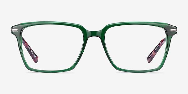 Sense Green Acetate-metal Eyeglass Frames