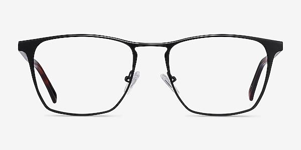 Jacob Black & Tortoise Acetate-metal Eyeglass Frames