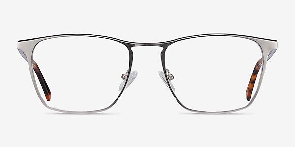 Jacob Silver & Tortoise Acetate-metal Eyeglass Frames