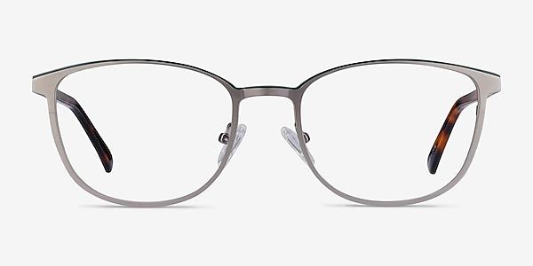 Guide Gunmetal & Tortoise Acetate-metal Eyeglass Frames