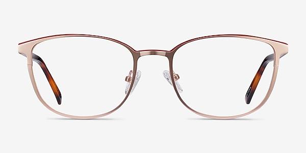 Guide Rose Gold Acetate-metal Eyeglass Frames