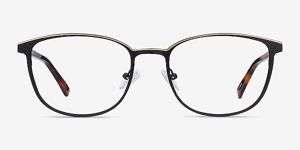 Guide Black & Tortoise Acetate-metal Eyeglass Frames
