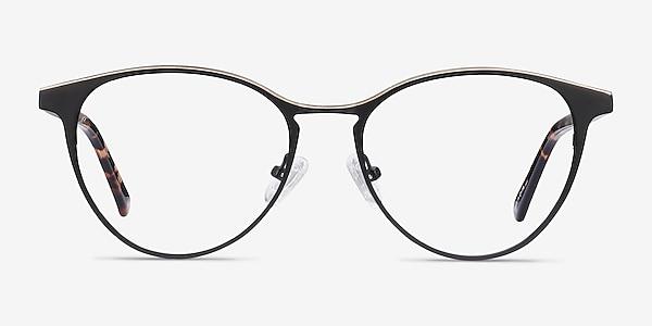 Vestige Black & Tortoise Acetate-metal Eyeglass Frames
