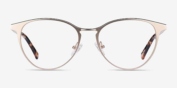 Vestige Gold & Tortoise Acetate-metal Eyeglass Frames